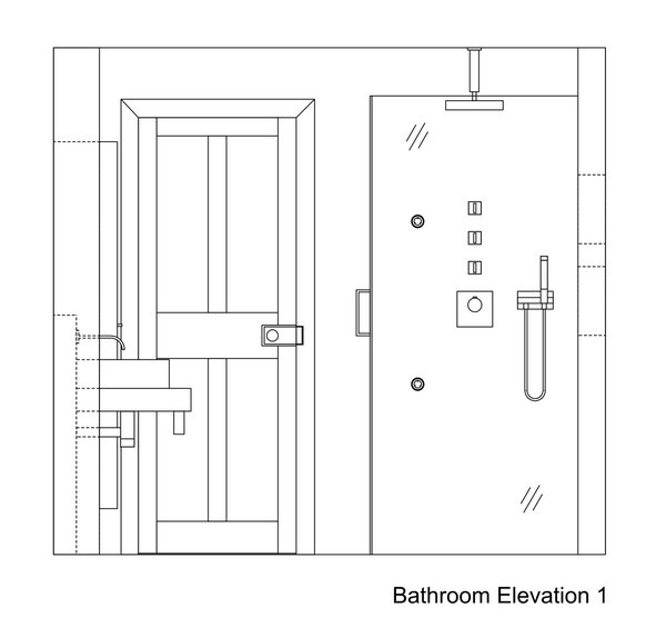 Wonderful Bathroom Elevation Drawings 600 x 565 · 25 kB · jpeg