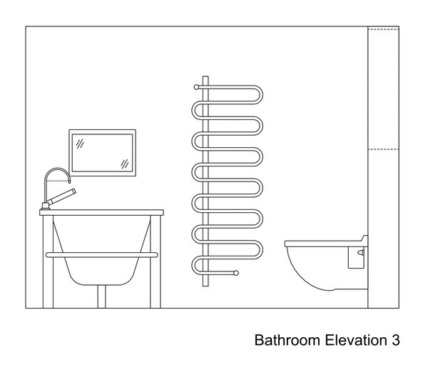 Stunning Bathroom CAD Drawings 600 x 518 · 24 kB · jpeg