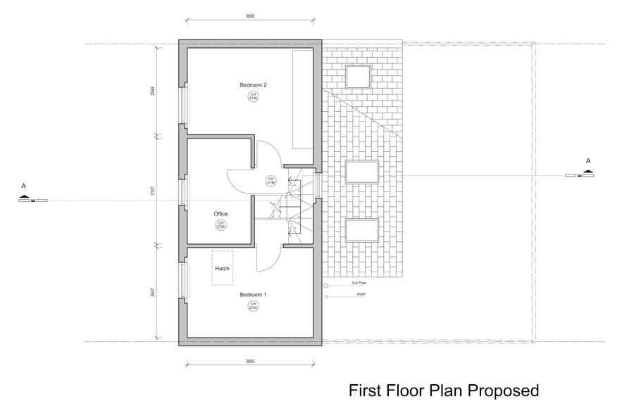Planning application drawings kent griffiths design - Floor plan drawing apps ...